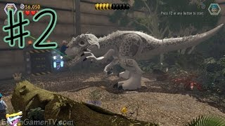 Download Ethan plays LEGO: Jurassic World (#2) | KID GAMING Video