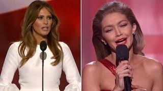Download Gigi Hadid Apologizes For Mocking Melania Trump: I Had No Bad Intent Video