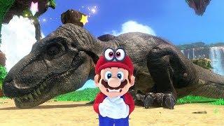 Download Super Mario Odyssey - All T-Rex Locations Video