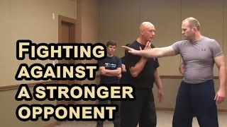 Download RUSSIAN SYSTEMA of hand to hand combat - Fighting against a stronger opponent Video
