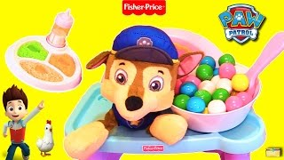 Download PAW PATROL Feeding Baby Chase Rainbow Gumballs to LEARN COLORS Kids Educational Best Video Video