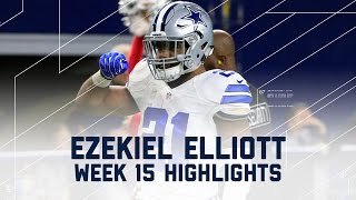Download Ezekiel Elliott Leads Cowboys to Victory with Career-High 159 Yards! | NFL Week 15 Player Highlights Video
