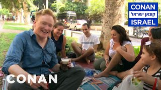 Download Conan Hits The Streets & Beaches Of Tel Aviv - CONAN on TBS Video