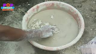 Download How to mix water and gypsum, POP बनाना कैसे सीखें Video