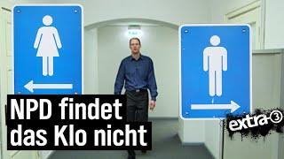Download Die NPD findet das Klo nicht (2008) | extra 3 | NDR Video