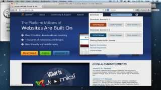 Download Install Joomla on a Mac - MAMP and Joomla Setup Video