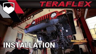 Download TeraFlex Install: TJ High Steer Conversion and Trackbar Kit Video