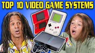 Download GENERATIONS REACT TO TOP 10 VIDEO GAME SYSTEMS OF ALL TIME Video