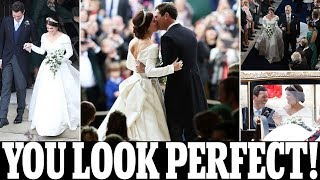 Download Princess Eugenie has married Jack Brooksbank and shared a passionate kiss at St George's Chapel Video