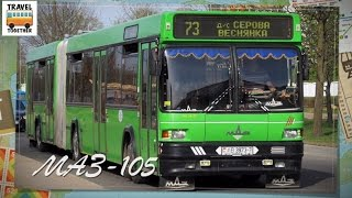 Download ″Транспорт Беларуси″. Автобус ″МАЗ-105″ | ″Transport in Belarus″. Bus ″MAZ-105″ Video
