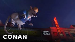 Download Conan's Macy's Parade Pitches - CONAN on TBS Video