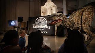 Download Jurassic World: The Exhibition walkthrough @ The Franklin Institute 2016 Video