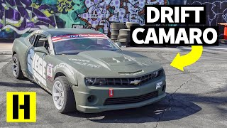 Download Can You Turn a 5th Gen Chevy Camaro Into a Pro Drift Car? Video