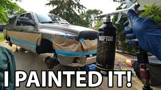 Download Painting My Truck w Upol Raptor Liner Bed Liner - Asian Redneck Project #16 Video