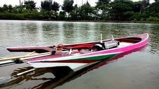 Download Cách làm tàu đua kiểu Thailand | Boat Thailand Rc (แข่งเรือ) Video