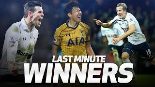 Download SPURS' MOST DRAMATIC INJURY-TIME WINNERS | ft. Harry Kane, Gareth Bale and Heung-min Son! Video