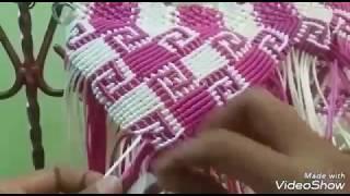 Download Tutorial macrame motif Kalimantan part 1 Video