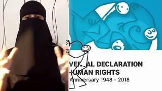 Download Arjwan, Saudi Arabia, reading article 6 of the Universal Declaration of Human Rights Video