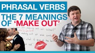 Download Phrasal Verbs - The 7 Meanings of 'Make Out' Video