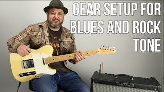 Download Guitar Tone Tips For Blues and Rock - Guitar Rig Setup Video