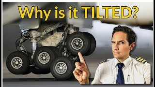 Download Why is the LANDING GEAR TILTED? Explained by CAPTAIN JOE Video