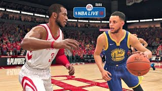 Download NBA Live 18 Demo Gameplay | Golden State Warriors vs Houston Rockets Full Game (Updated Rosters!) Video