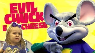 Download Kids meet Evil Chuck E Cheese!! Playing Arcade Games & Family Fun | KIDCITY Video
