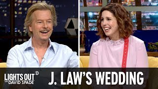 Download Who's Invited to Jennifer Lawrence's Wedding? (feat. Vanessa Bayer) - Lights Out with David Spade Video