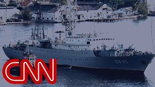 Download Russian spy ship heading toward US Video