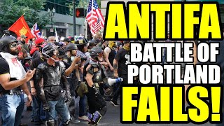 Download ANTIFA FAILS at the Battle of Portland! Video