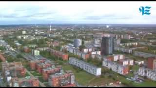 Download ve.lt Klaipėdos vaizdai nuo Pilsoto pastato stogo Video