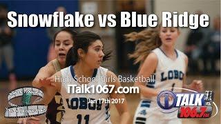 Download Snowflake vs Blue Ridge Girls Basketball Full Game Lobos vs Yellow Jackets Video