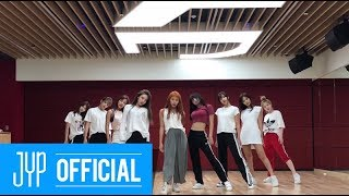 Download TWICE ″Dance The Night Away″ Dance Video (NEW JYP Practice Room Ver.) Video