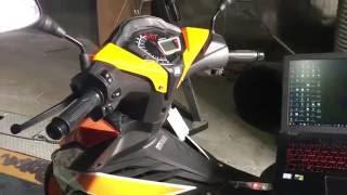 Download Honda RS150 Tuning ECU Apitech v9.1 Video
