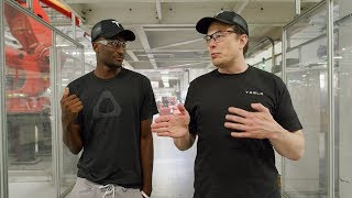Download Tesla Factory Tour with Elon Musk! Video