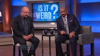 Download Is It Weird?: You can't keep eating that! || STEVE HARVEY Video