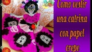 Download Cómo vestir una catrina | Especial Día de muertos Video