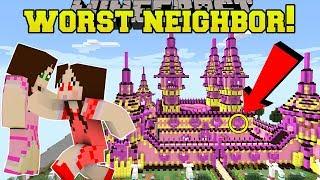 Download Minecraft: THE WORST NEIGHBOR EVER!! (HELLO JEN!) Custom Map Video