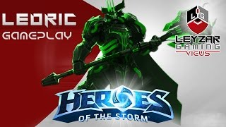 Download Heroes of the Storm (Gameplay) - Leoric Meta Build (HotS Leoric Gameplay Quick Match) Video