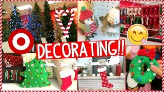 Download Decorate for Christmas with Me!! | Shopping at Target and Decorating my Room!! Video