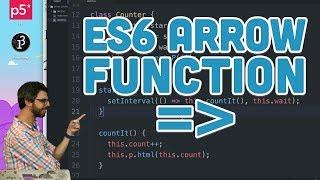 Download 16.3: ES6 Arrow Function - Topics of JavaScript/ES6 Video