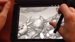 Download Crabfu: Wacom Creative Stylus Review/Mod for iPad Air Video