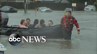 Download Thousands rescued in Houston amid catastrophic flooding Video