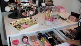 Download Organize With Me! My Makeup Organization - MissLizHeart Video