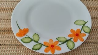 Download Vegetable Plate Decoration (01)    Vietnam Food Channel Video