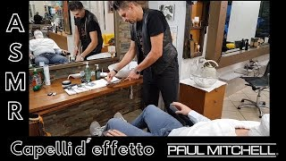 Download 💈 - ASMR - Traditional italian barber - Face scrub, face shave with straight razor and face massage Video