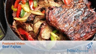 Download Authentic Tex Mex Style Steak Fajitas Video