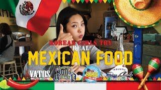 Download Korean Girls Try REAL Mexican Food [Lengua, Tripas, Menudo, Tamales, etc] Video
