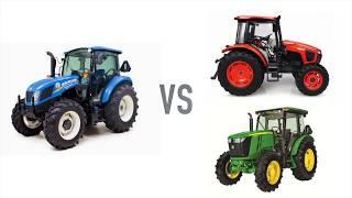 Download New Holland T4 Utility Tractors vs Kubota and John Deere Video