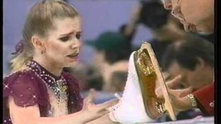 Download Tonya Harding (USA) - 1994 Lillehammer, Figure Skating, Ladies' Free Skate, 1st Attempt Video